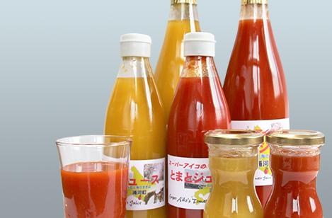 スーパーアイコのトマトジュース